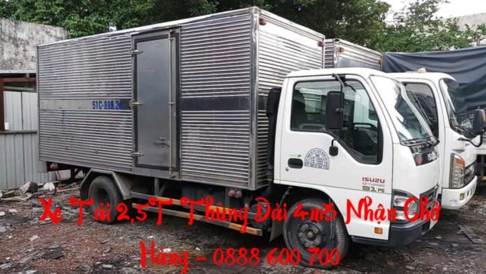 Xe tải chở hàng 2 tấn thùng dài 4m3