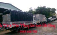 Cho thuê xe tải chở hàng thùng dài 4m3