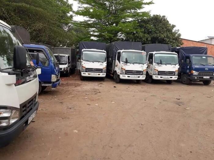 Cho thuê xe tải chở hàng hcm – liên tỉnh