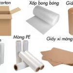 Vật liệu cần dùng đóng gói