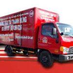 Xe tải chở hàng thành hưng